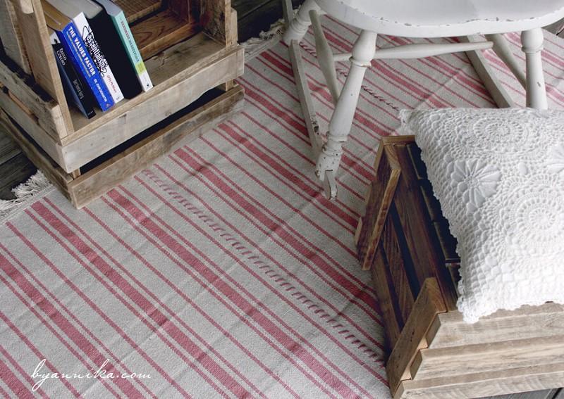 IKEA HACK: Create a cheap, big rug