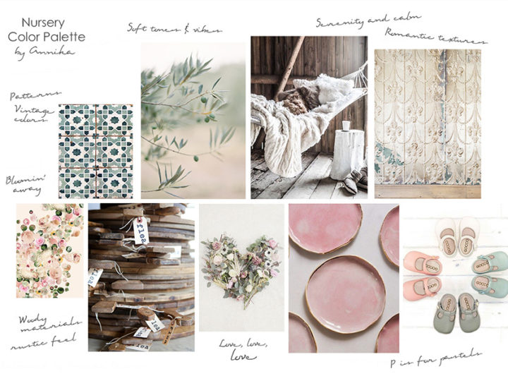 Baby girl on the way – and a mood board