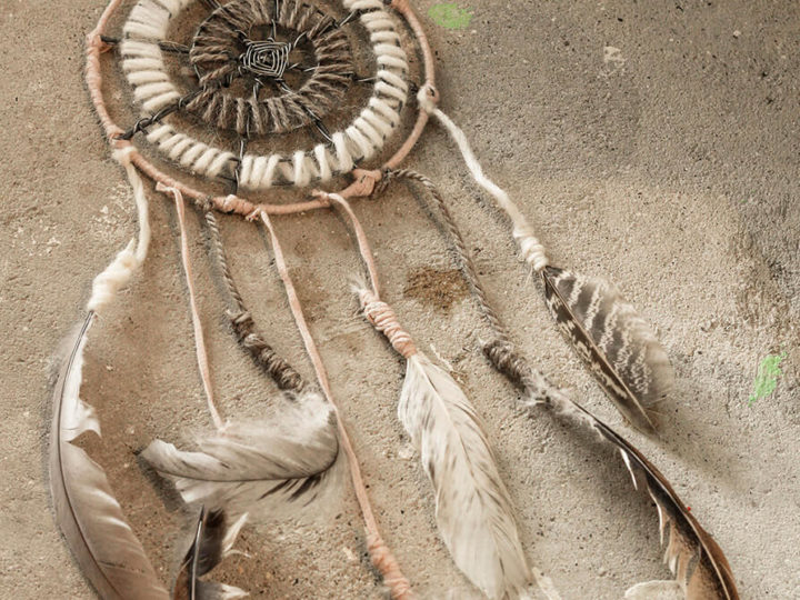 DIY dreamcatcher for little girls room